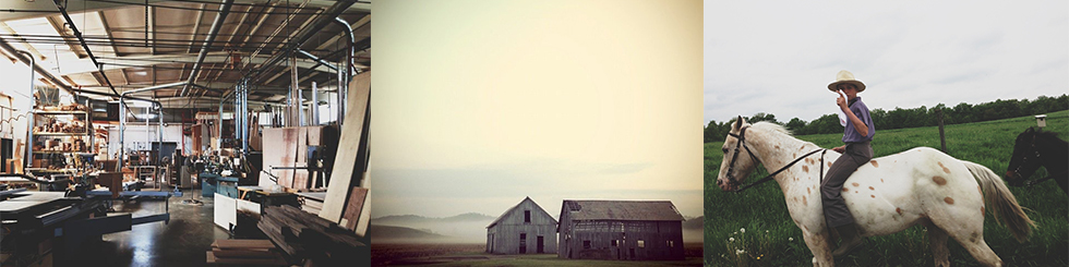 Amish-Montage